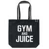Gym and Juice Gym Bag - Varsity Black