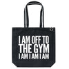 Off To The Gym bag - Varsity Black
