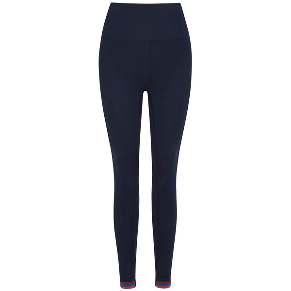 Freefall Leggings - Navy/Red