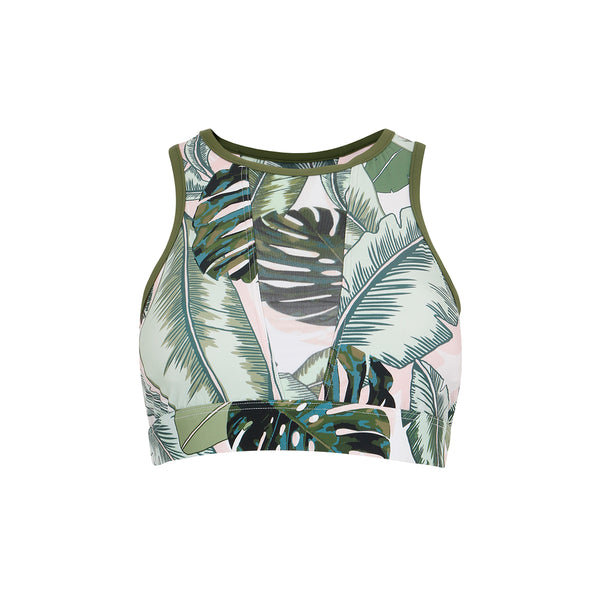 Palm Beach Crop Top