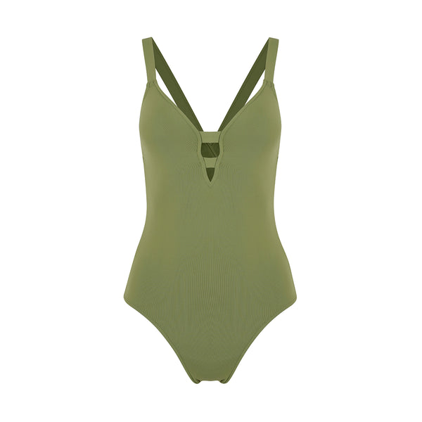Seafolly | Active Swim Keyhole Maillot One Piece  | Swimwear | Beach | Activewear |