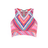Seafolly | Desert Tribe Crop Top | sports Bra | Activewear | Beach | Swim | Bikini