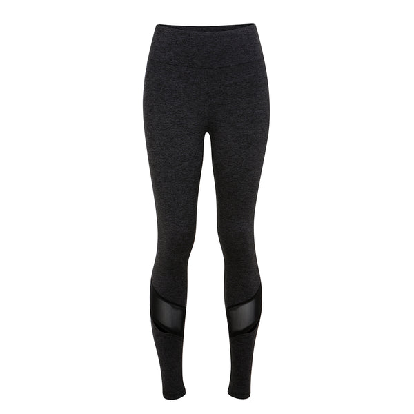 Lanston | Lowell Mesh Slit Legging | Grey | leggings | Mesh detail | Celeb favourite activewear