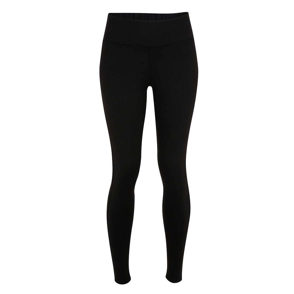 Speedplay Legging - Black & Marigold