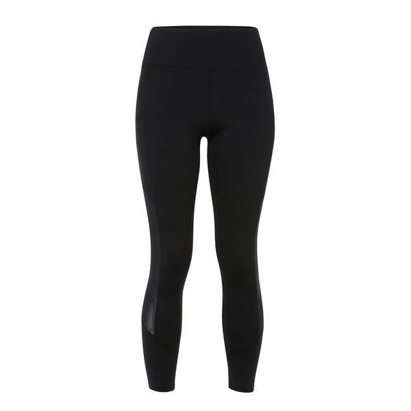 Lanston | Gareth Pocket Leggings | Black | leggings | Mesh detail | Celeb favourite activewear