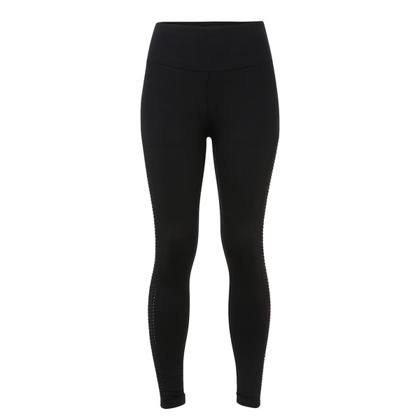 Dixon Side Panel Leggings | Black