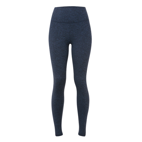 Lanston | Bailey Leggings | Navy Marl | Celeb favourite | Activewear brand | High waist leggings | marl
