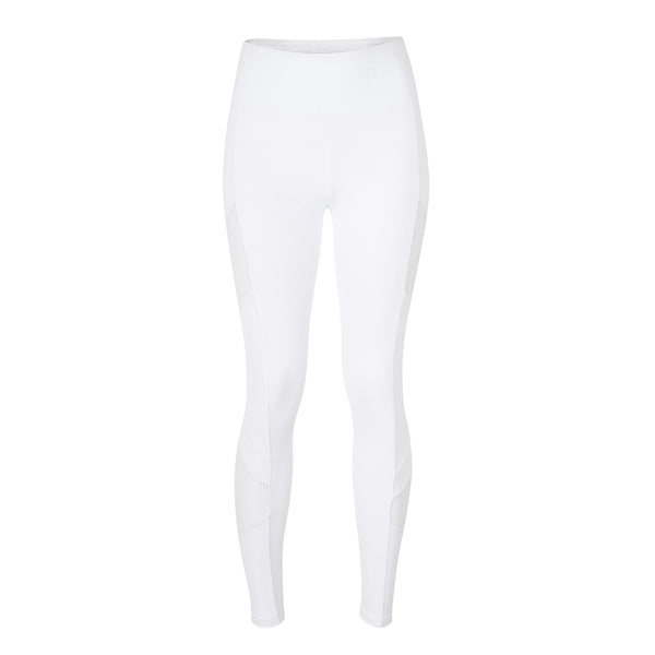 Rhett Side Panel Leggings - White