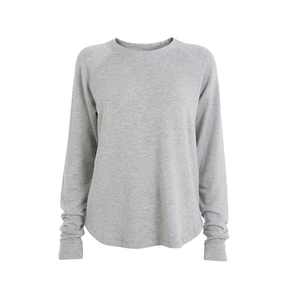 Warm up Pullover - Light Heather Grey