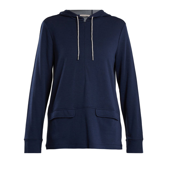 Falke | Women Running Pullover | Navy | Activewear | Workout | Gym