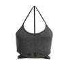 Infinity Sports Bra - Heather Grey