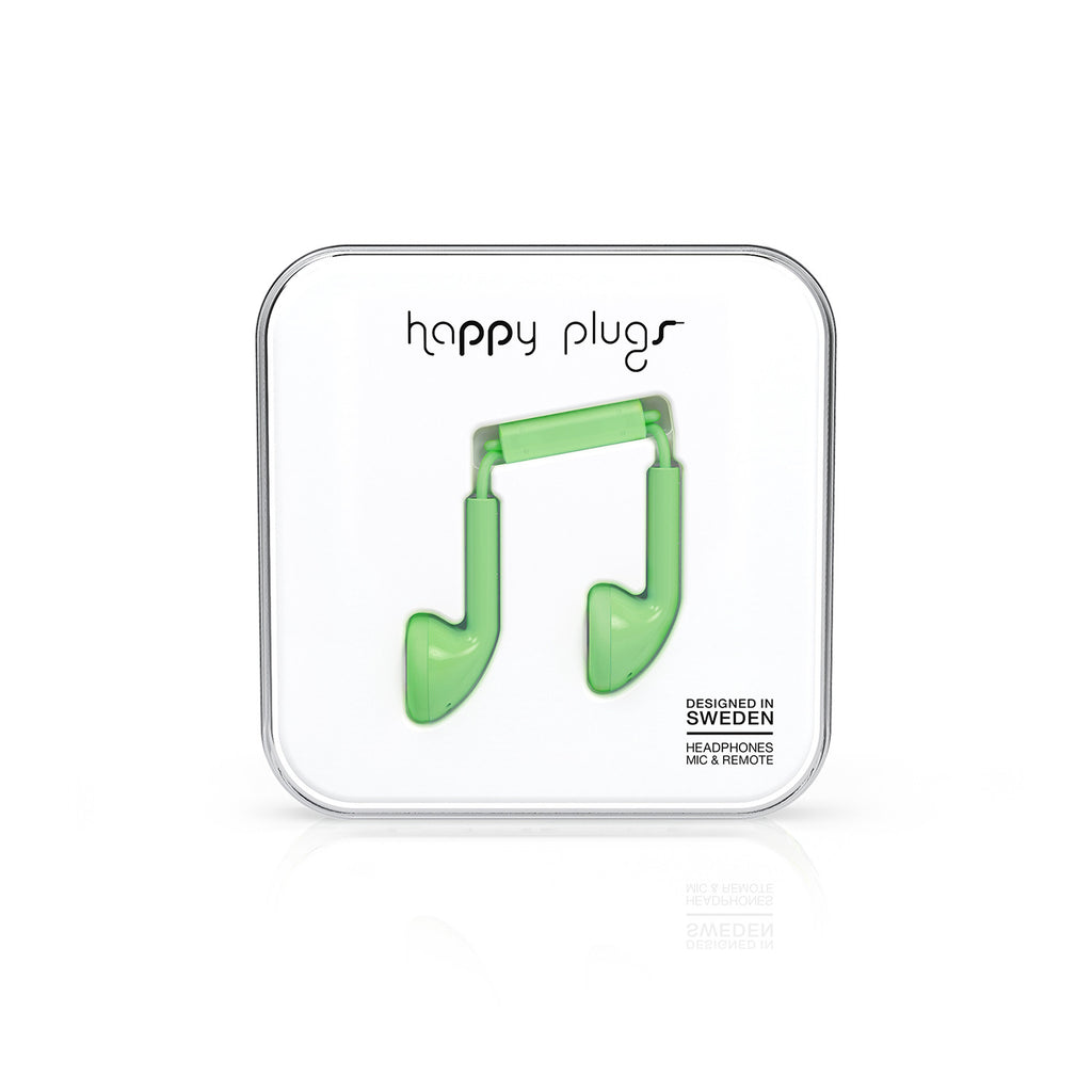 Happy Plugs Earbud - Mint