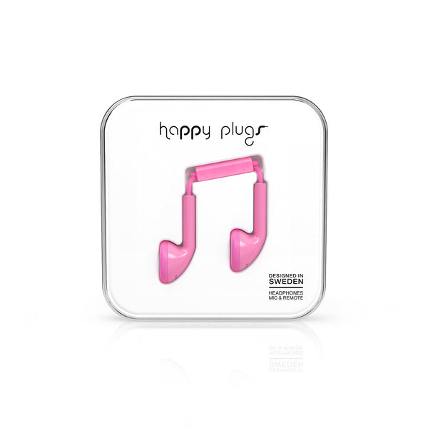 Happy Plugs Earbud - Pink