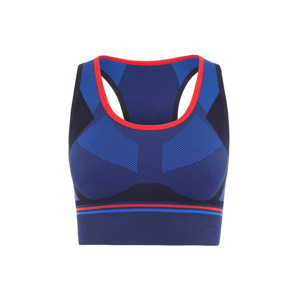 Hustle Sports Bra - Navy
