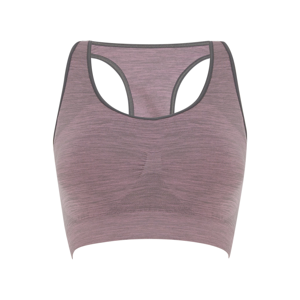 Seamless Compression Bra - Lilac