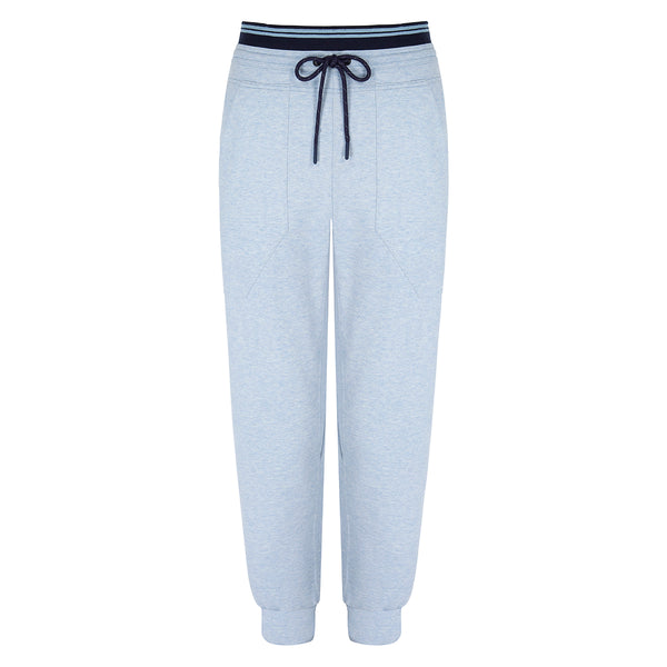 Synergy Track Pants - Light Blue Marl
