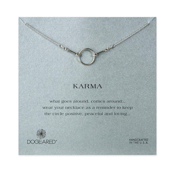 The Original Karma Necklace - Sterling Silver