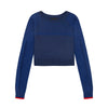 LNDR | Prism Jumper | Navy | Sweatshirt | merino Wool | Loungewear | Leisurewear