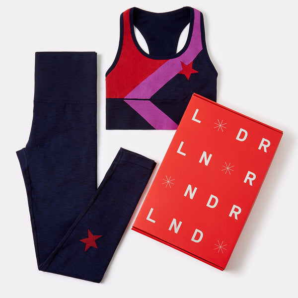 Limited Edition Christmas Gift Set - Sports Bra and Leggings
