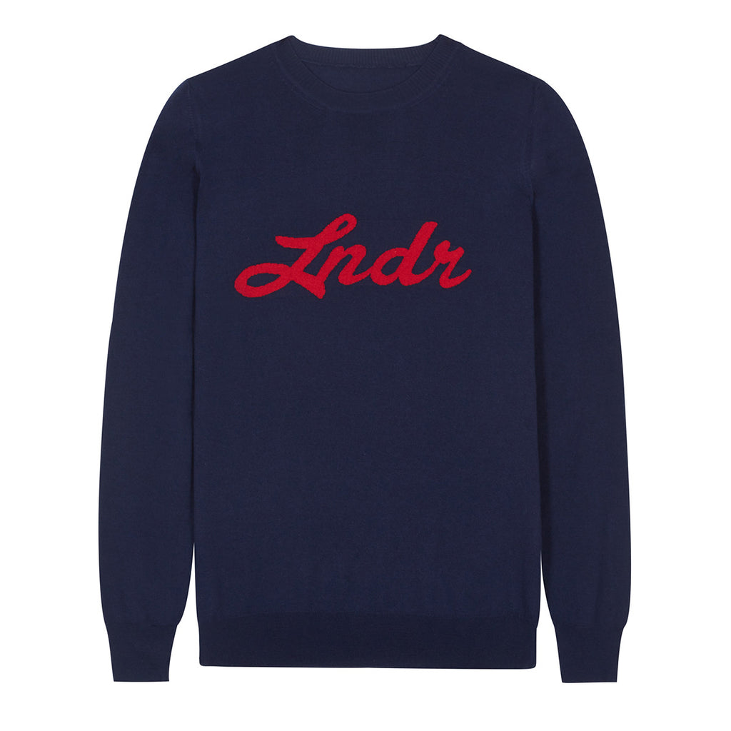 Happiness Jumper - Navy Marl
