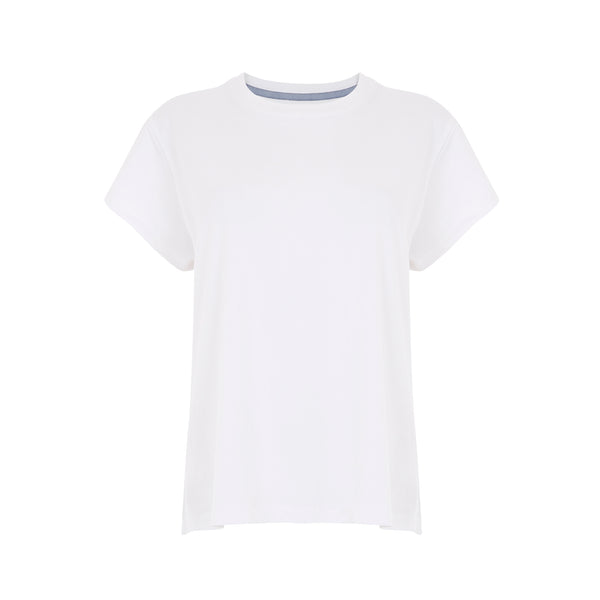 Luxe + Hardy | Classic Oversized Tee | Leisurewear | Sleep wear | off duty | White Tee | perfect white tee