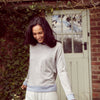 Luxe + Hardy | Luxe & Hardy | loungewear | womens loungewear | loungewear for women | sweatshirt | Sweater | Merino wool Jumper |  Loungewear to wear out