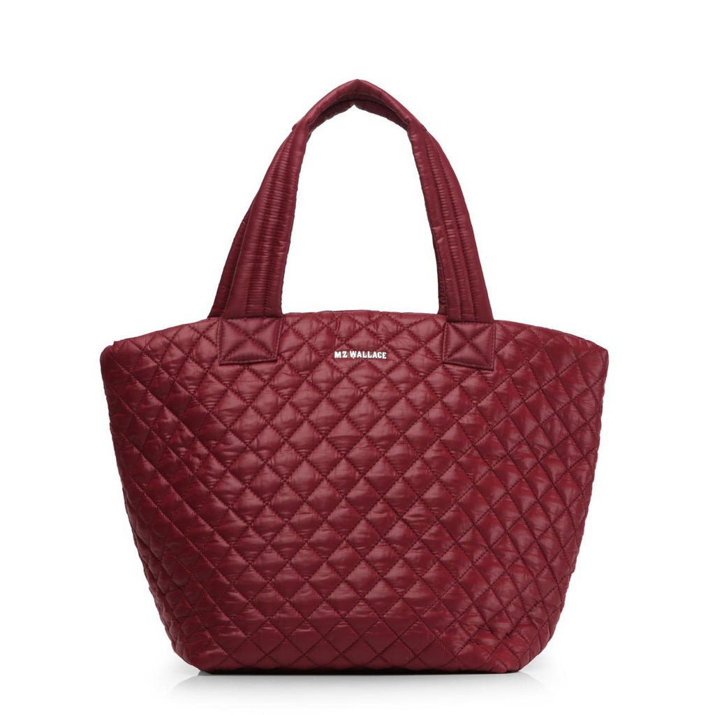 Medium Metro Tote - Maroon