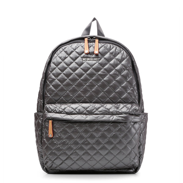 Metro Backpack - Steel Metallic Oxford