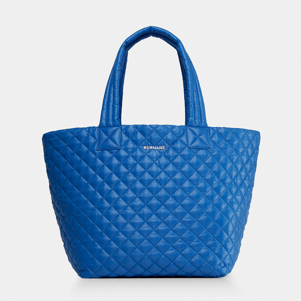 MZ Wallace | Medium Metro Tote | Tahiti Blue