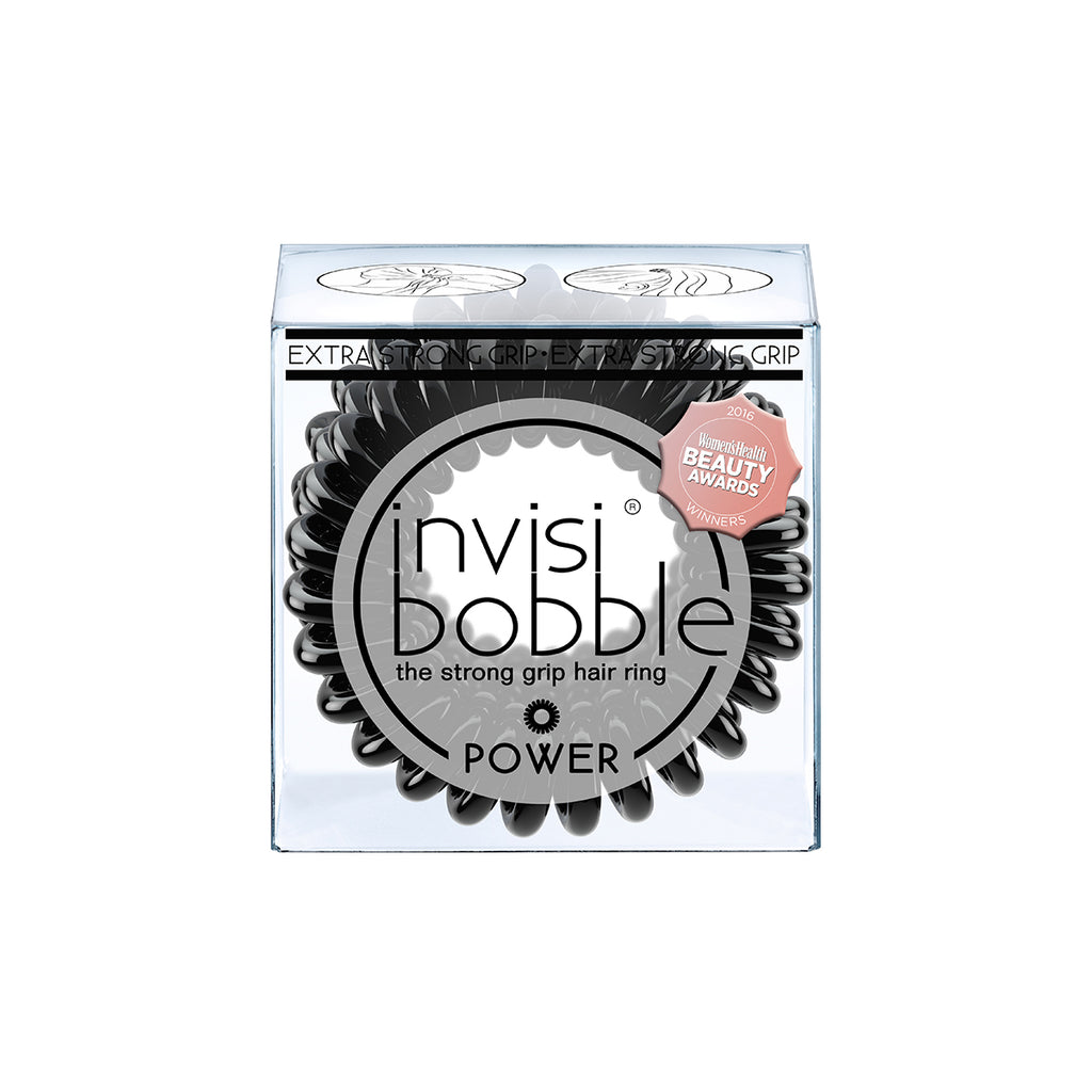 Invisibobble | Power | True Black | Hair tie | elastic band | workout