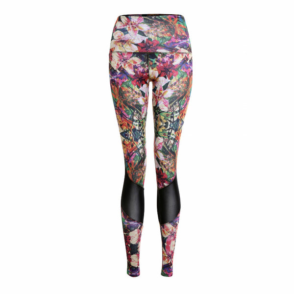 Tropical Mesh Leggings