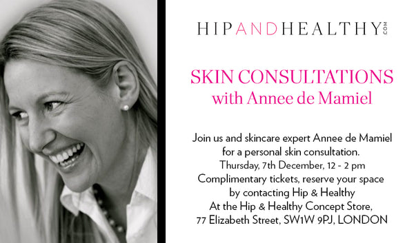 TICKET - Skin Consultations with Annee de Mamiel