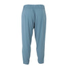 Hill Zip Pant | Blue Surf & White