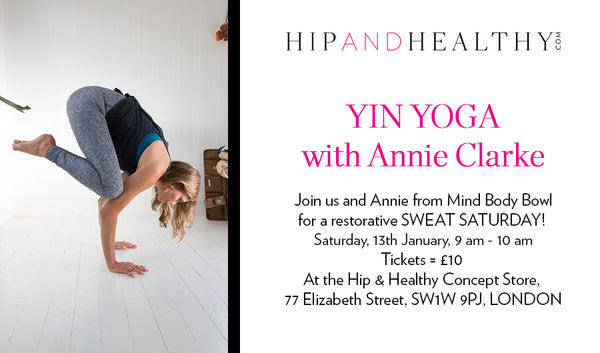 TICKET - Yin Yoga with Annie Clarke