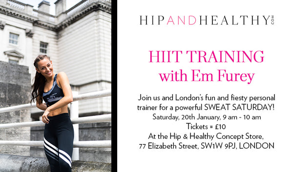 TICKET - HIIT Training with Em Furey