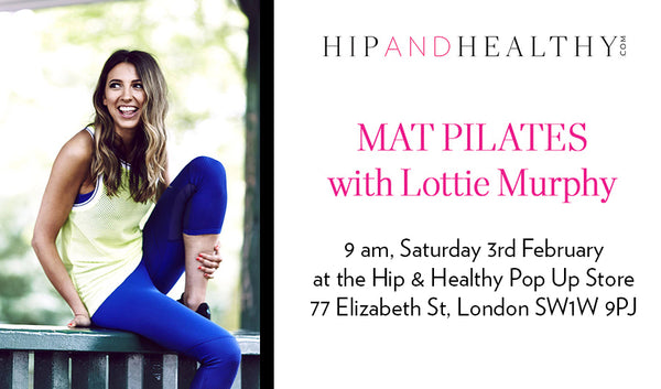 TICKET - Mat Pilates with Lottie Murphy