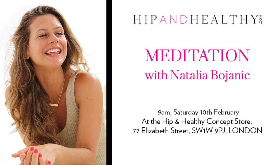 TICKET - Meditation with Natalia Bojanic