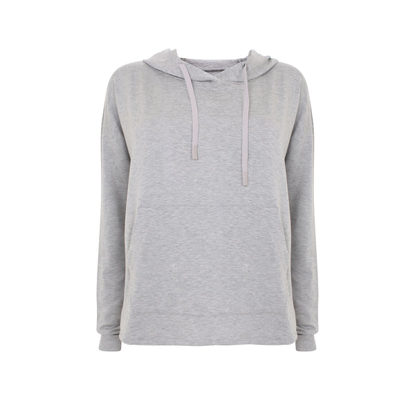 Splits59 | Pacific Hoodie | Light Heather Grey | Loungewear | sweatshirt