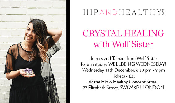 TICKET - Crystal Healing Workshop with Wolf Sister