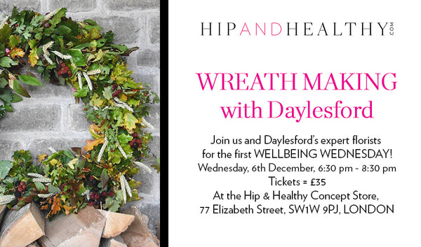 TICKET - Wreath Making with Daylesford