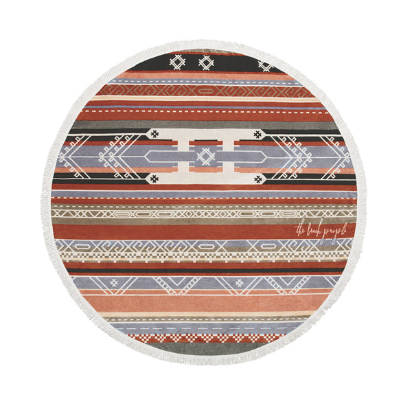 The Beach People | The Bedouin | Towels | Round Towel | Beach Towel