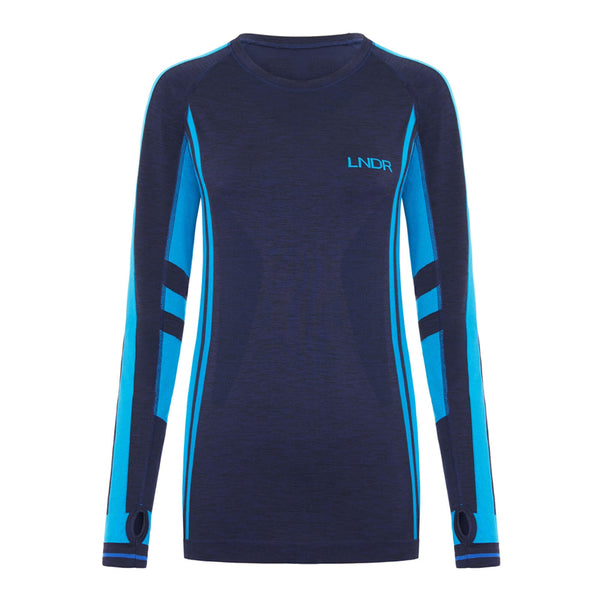Colours Long Sleeve - Navy Marl