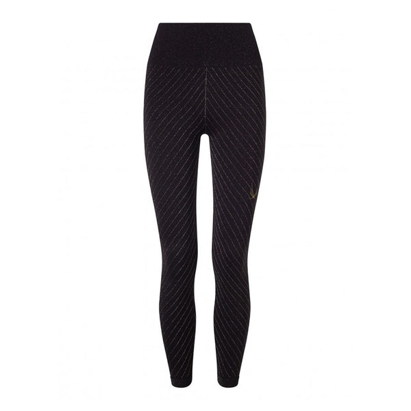 Technical knit Stardust Leggings - Black