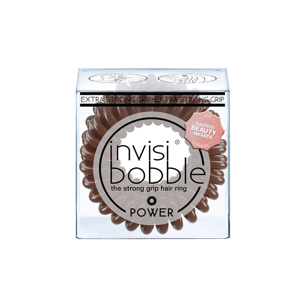 Invisibobble | Power | Pretzel Brown | Hair tie | elastic band | workout