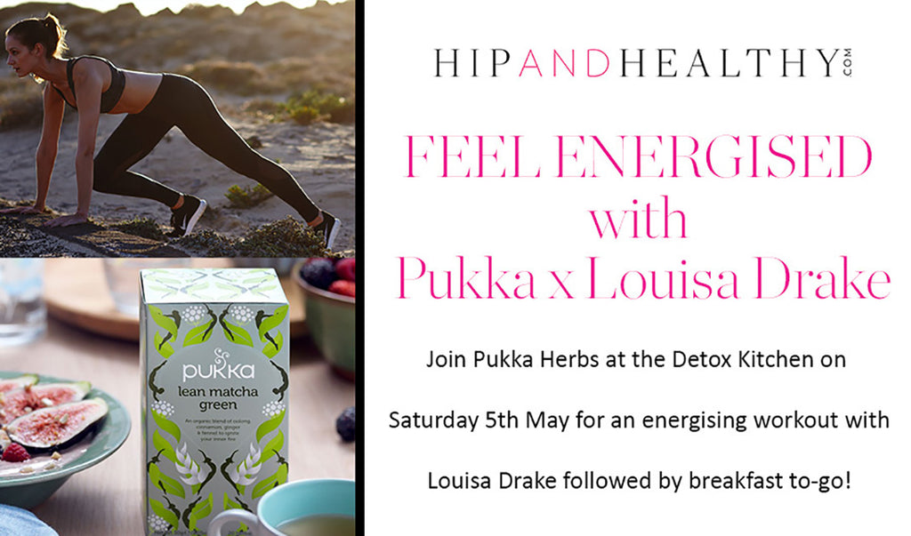 Pukka x Louisa Drake Method Breakfast Event