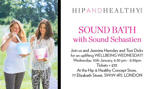 TICKET - Sound Bath with Sound Sebastien
