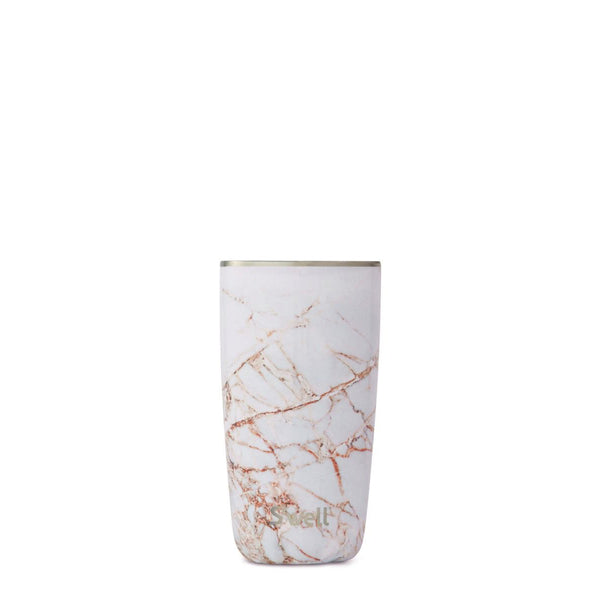 Calacatta Gold Tumbler and Lid - 18oz