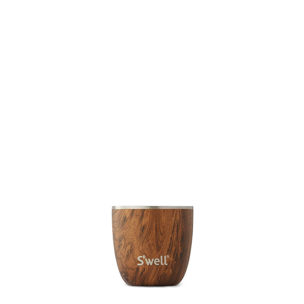 Teakwood Tumbler and Lid - 10oz