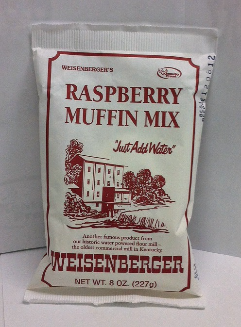 RASPBERRY MUFFIN MIX