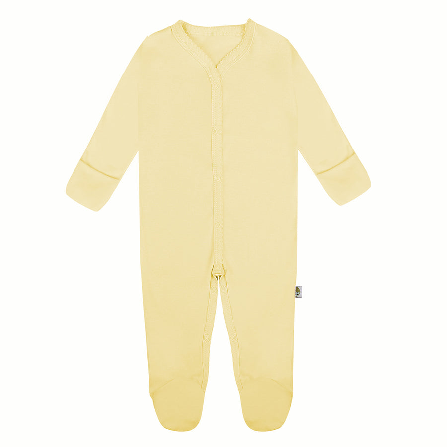 Jumpsuit with Reversible Mitten in Pastel